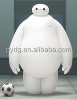 2015 Lovely Inflatable Baymax Cartoon, Inflatable Robot Baymax