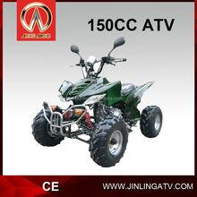 Jinling atv trader 150cc gas powered vehicles for kids pedal 4 wheel atv bike