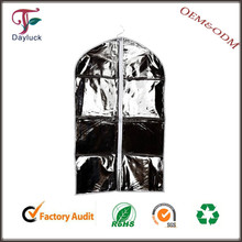 Reusable Clear pvc suit cover/garment bags