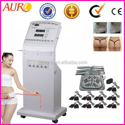 High quality standing electro muscle stimulator body slimming infrared russian waves machine au-4000