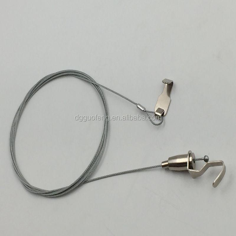 Einstellbare länge stahldraht seil aufhänger kabel für hanger poster ...