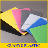 Eco-friendly Recycle Polypropylene Corrugated Plastic Corex Board