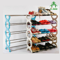 DIY furniture stainless steel shoe rack shelf