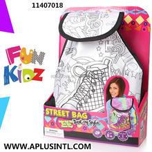 Kids Craft DIY Paint Your Own Street Bag Kits