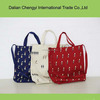 hot selling fun canvas shopping tote bag with shoulder strap