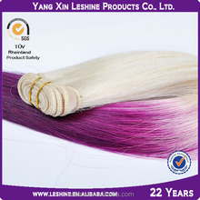 Qingdao Factory Advantaged Dying No Fade Ombre Yaki Hair Extension