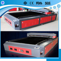 1325 large format tailoring laser cutting bed for Cloth,Leather,Textile,fabric