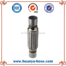 flex connector for auto exhaust engine