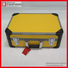 New arrival aluminum demo case for equipment, tool case in yellow