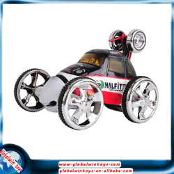 2015 new design children electric toy car for sale! GW-T2152 4ch 360 degree rotation rc small stunt car