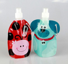 2012 newest style promotion soft plastic water bottle