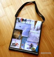 shoulder bag non woven/logo shoulder bag/oversized ladies large shoulder bag tote shopper