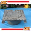 arena de fundición de hierro dúctil de boca cubierta redonda marco redondo o cuadrado