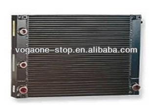 Intercambiador de calor de radiador de agua del radiador para Ingersoll Rand compresor de aire de piezas de 23699994
