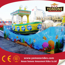 New Attractive Amusement Park Rides Slide Boat Era Spin Boat Amusement Rides for sale