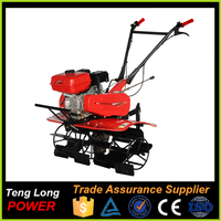 Widely Used Recoil Start Rototiller / Gasoline Cultivator For Cultivation