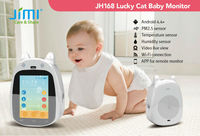 Jimi 2015 Newest Smartphone Control Baby Toy Hidden Camera P2P Wifi Baby Monitor JH168