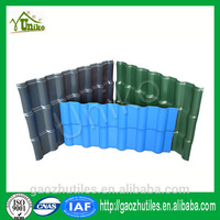 delicate apperance Lasting color natural rock lightweight roof tiles