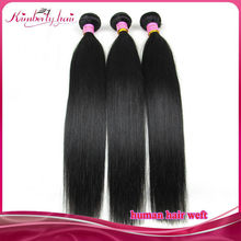 2015 Hot selling grade 7A silk straight wholesale black women hair products