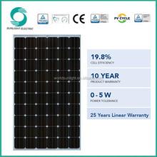 High output efficiency monocrystalline silicon pv mini solar panel price