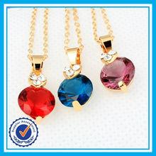Directo de fábrica barata de precio de la joyería cristalina plateada oro de dubai joyería de fantasía