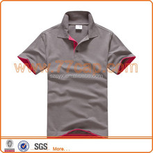 High quality custom pique blank polo shirts design with combination