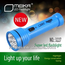High Power Rechargeable 3 led torch