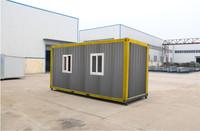 2015 new studio modular shipping container villa