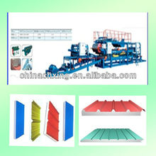 CE Color Steel Sandwich Panel Press Machine