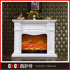 artificial wall mounted electric fireplace