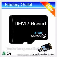 China cheap 8gb sd memory micro card wholesale