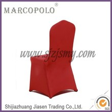 wedding cover chair/spandex chair cover/ ali express red lycra wedding chair cover
