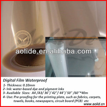 Transparent Inkjet Printing PET Film