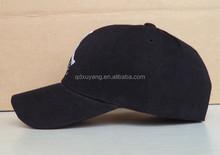 black basketball cap 6 panel sports cap and hat