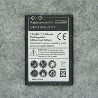 2015 New Product for LG G4 mobile phone battery li-ion replacement high capacity battery