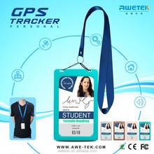GOOD NEWS id card portable personal live micro sim card gps tracker/gps satellite tracking