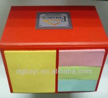 2012 House shape box with sticky notepad