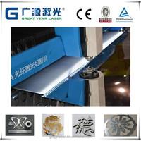 cnc metal sheet laser cutting machine for advertising / handicraft / gift industry