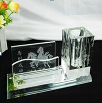 Design requintado especial de natal lembranças de cristal para amigos