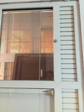cheap UPVC louver window two type with up and down design