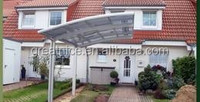 hot sale special residential single carports/ car parking shelter