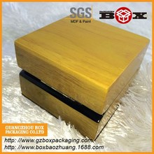 wholesale high quality rectangle luxury wood box gift