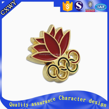 Cheap custom soft enamel metal brand emblems