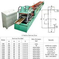 c section roll forming machine for construction