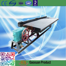 Gold Detecting Machine Shaking Table with Fiberglass Material Quality