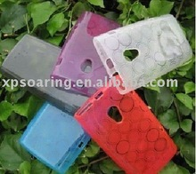 Hubble Silicone rubber case skin back cover for Sony Ericsson X10