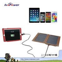 New arrival solar usb charger, Sunpower ultrahigh efficiency solar cells 6x6, intelligent best batteries for solar power