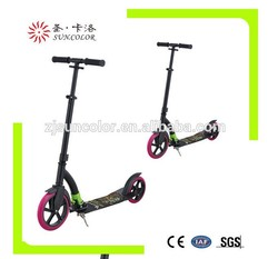 230MM big wheel Full Alluminum folding adult kick scooter cheap scooter with GS certification