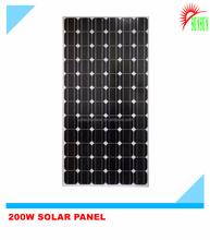 200W Monocrystalline Solar panel for charging 12V battery