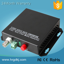 Networking security cctv system low cost HDCVI converter hd-cvi fiber optic to bnc transceiver